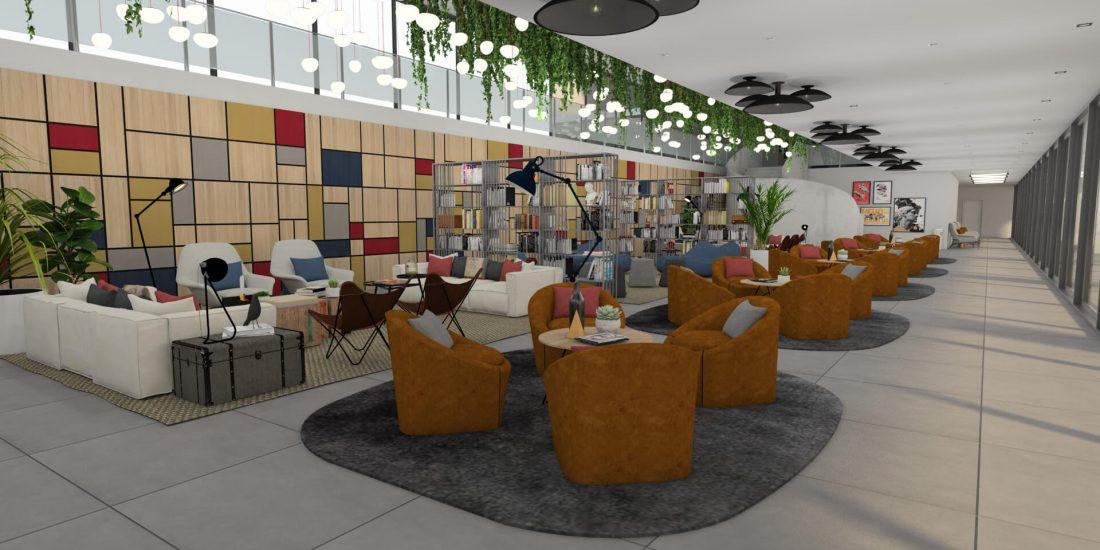 Lobby - U-LOFT Braga
