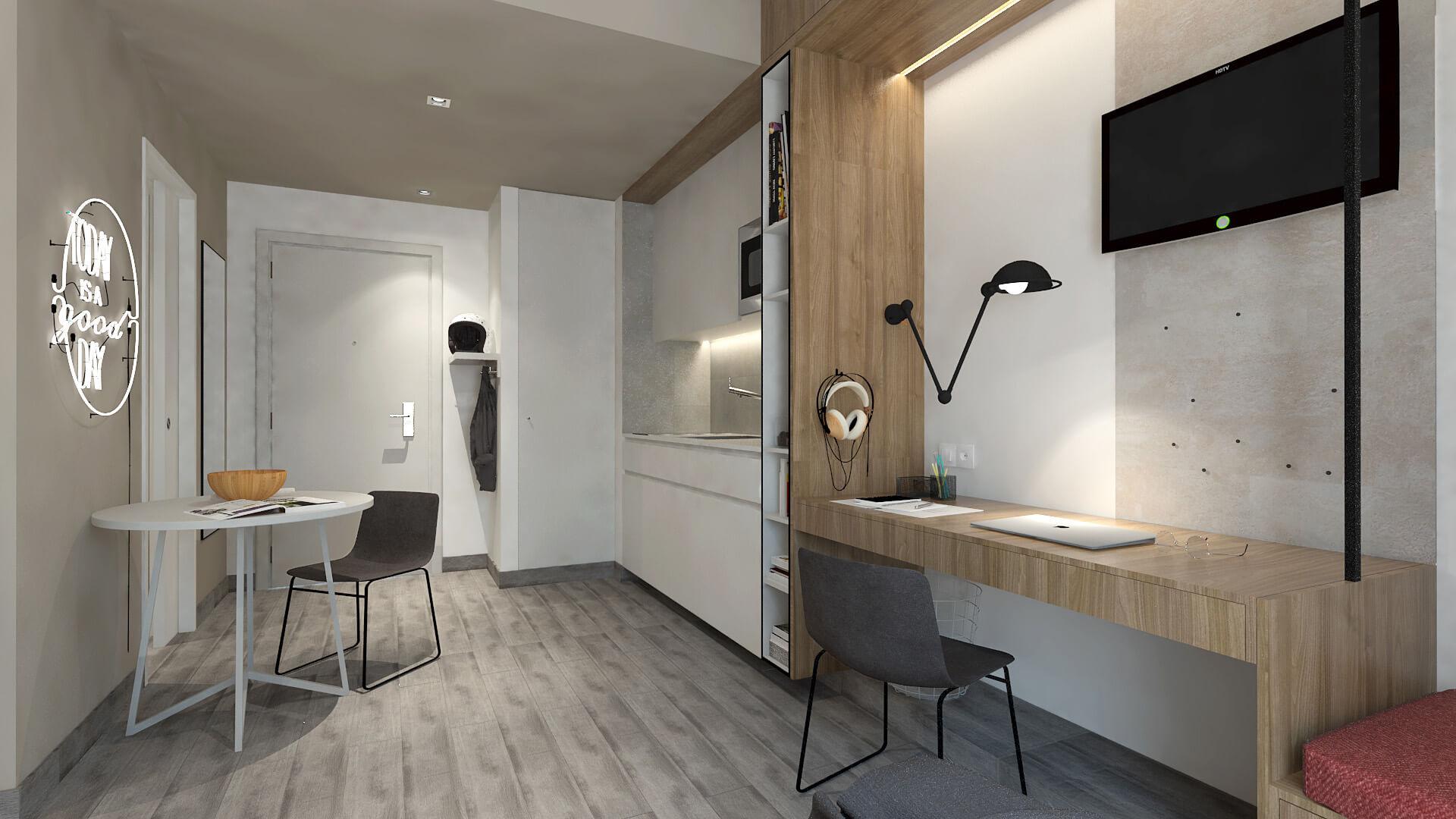 T0+ - Cozinha - U-LOFT Braga